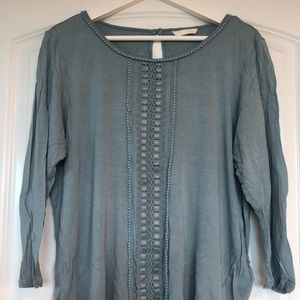 H&M 3/4 sleeve shirt